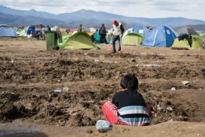 As EU leaders prepared a deal with Turkey that would effectively barter refugees, the humanitarian crisis is worsening in places such as the Greek border crossing of Idomeni, where up to 13,000 refugees and migrants have been stranded. The border restrictions and gradual closure imposed here by neighouring Macedonia, effectively shutting the Western Balkans route, have fueled an increasingly desperate situation for asylum-seekers. Here are some of the scenes captured by Amnesty International's Fotis Filippou.